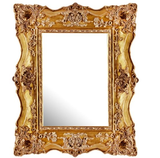 Montigo Ornate Wall Mirror In A Gold Frame