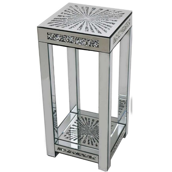 Montrez Mirrored Sunburst Large Side Table_1