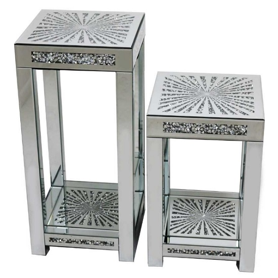 Montrez Mirrored Sunburst Large Side Table_2