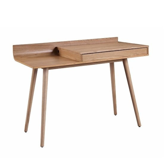 Morvik Wooden Computer Desk In Ash With Lift Up Lid_1