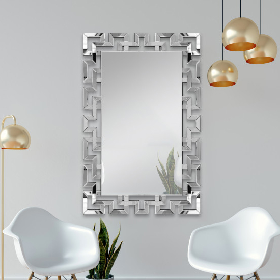 Mourad Designer Rectangular Wall Mirror