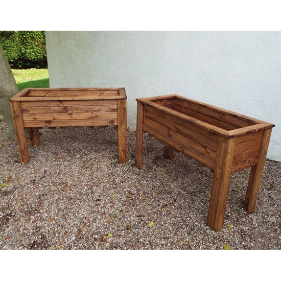 Moya Large Wiltshire 2 Pieces Raised Trough Set
