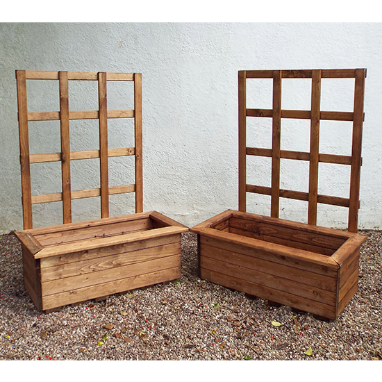 Moya Medium Kensington 2 Pieces Trellis Trough Set
