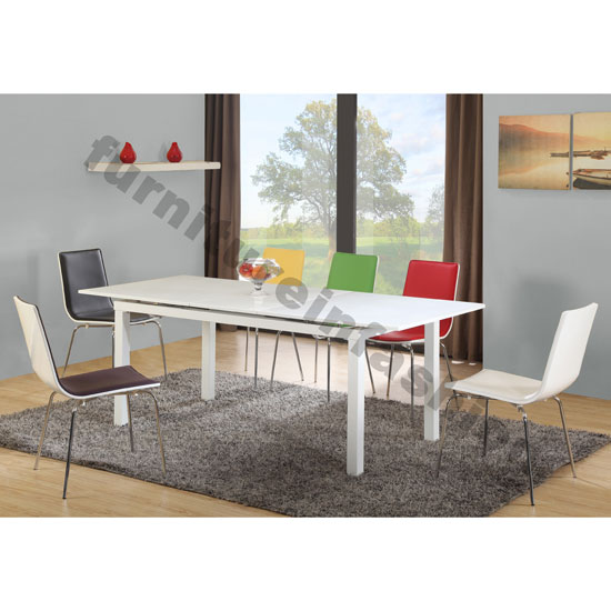 Buy cheap 6 seater dining table compare Furniture prices  : multi gloss white set from priceinspector.co.uk size 550 x 550 jpeg 51kB
