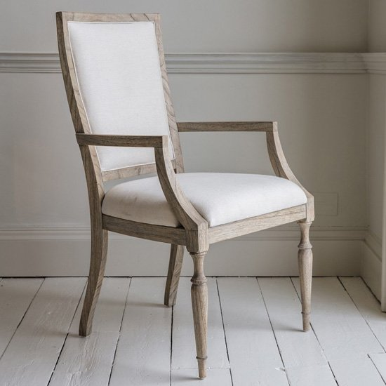 Mustique Wooden Armchair In Natural