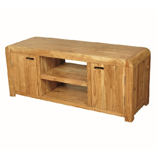 Nancy Large TV Stand In Solid Acacia Wood