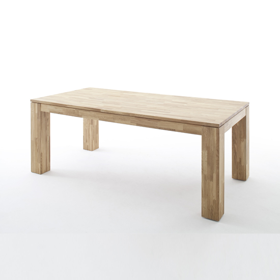 Nantes Small Wooden Butterfly Dining Table In Wild Oak