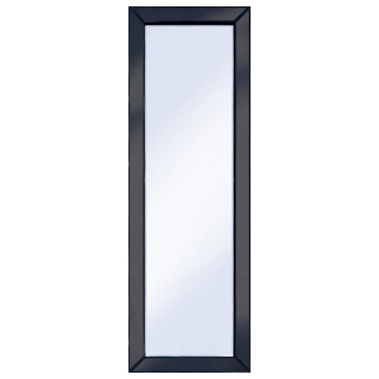 Brilliance Black 120x40 Rectangle Wall Mirror