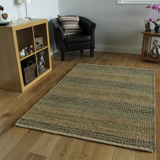 Natural Living Seagrass Blue Rug_2