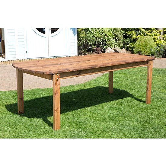 Necova Large Rectangular Wooden Dining Table_1