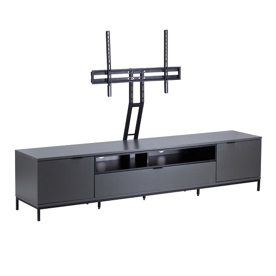Nelson Wooden TV Cabinet Large In Charcoal