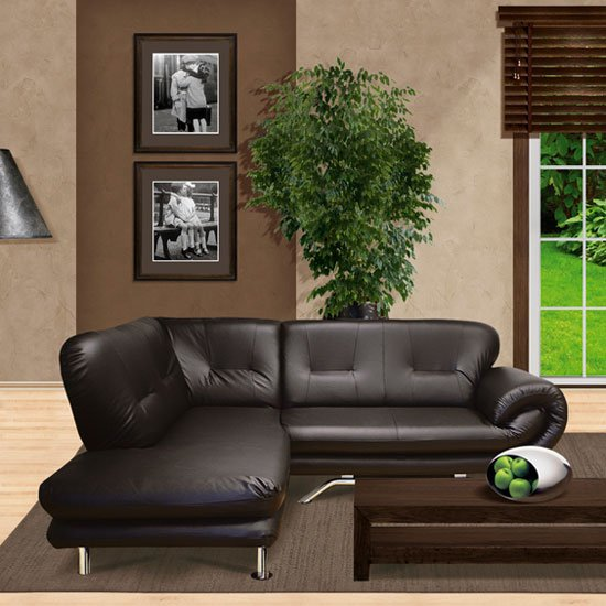 nena corner faux leather sofa - Best Sofa Setting For Hotels