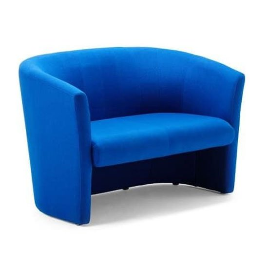 Neo Fabric Twin Tub Chair In Blue