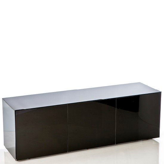 Nexus Large Tv Stand In Black High Gloss With Wireless