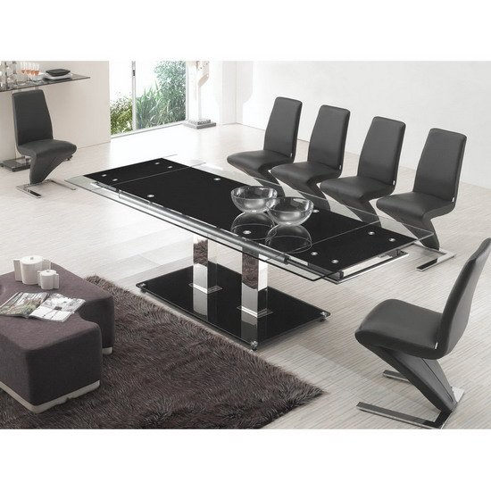 nitro large extending dining table z black chair - Dining Tables Can Be More Than A Place To Eat