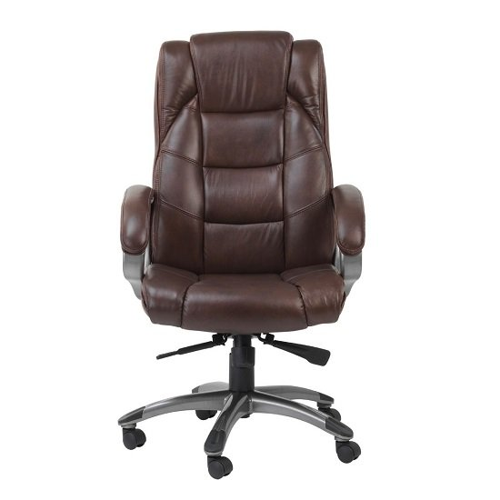 Nobbler Home And Office Executive Chair In Brown
