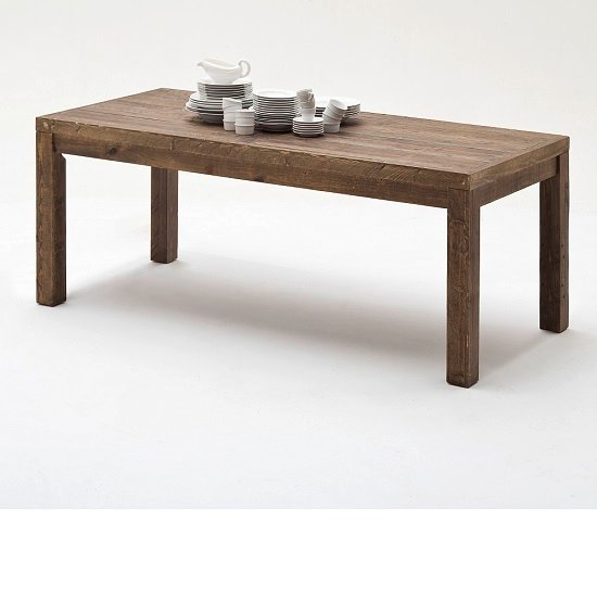 norfolk T60 wooden dining table 10625 14 - 4 Interior Design Ideas For Brown Furniture: Major Styles To Choose From
