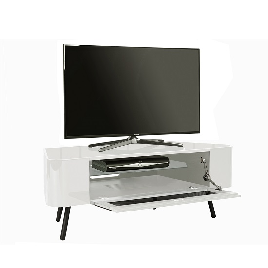 white corner tv stand. norvik corner tv stand in white high gloss with glass door_3 tv a