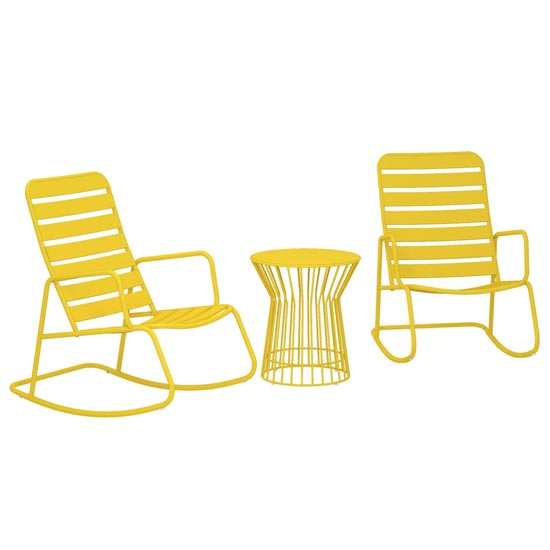 Novogratz Roberta Metal Rocker Set In Yellow_2