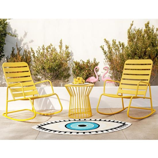 Novogratz Roberta Metal Rocker Set In Yellow_1
