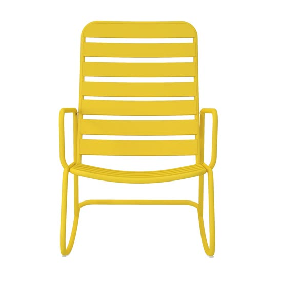 Novogratz Roberta Rocking Chair In Yellow_3