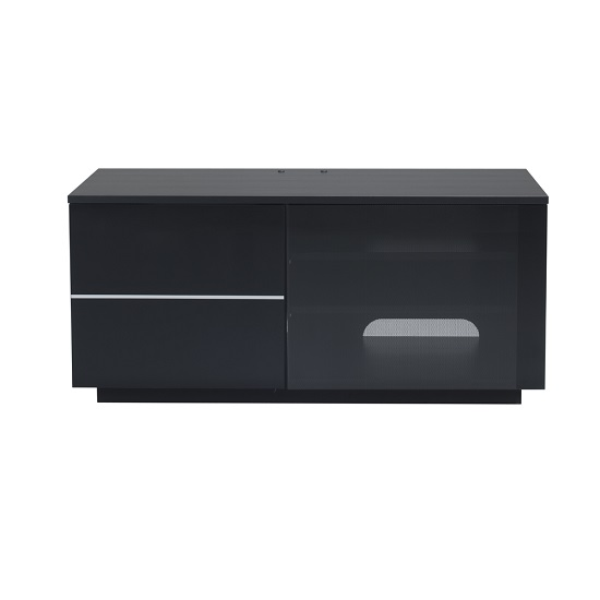 Parin TV Stand In Black With Two Doors