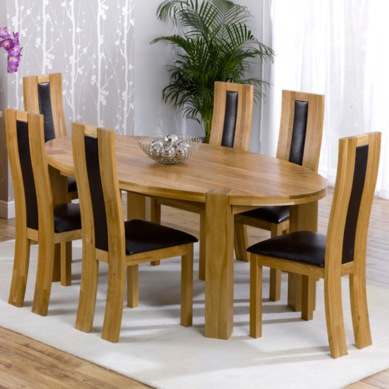 Dining Table Dining Table Sets Leicester : oak Oval DT 6 hava Chairs from diningtabletoday.blogspot.com size 550 x 550 jpeg 251kB