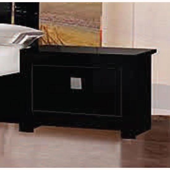 omega black high gloss bedside cabi  11221 furniture in