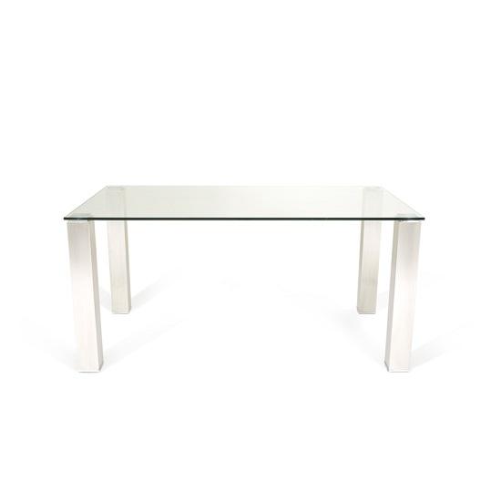Ontario Glass Dining Table Rectangular With Stainless Steel : ontarioglassdiningtablerectangular2 from www.furnitureinfashion.net size 550 x 550 jpeg 8kB