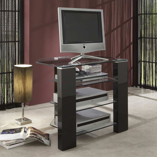 opus hi fi 80120 - Astonishing Examples Of High Quality Corner TV Stands For A Compact Living Room