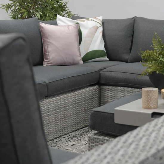 Oravo Corner Sofa Group With Armchair In Organic Grey_4