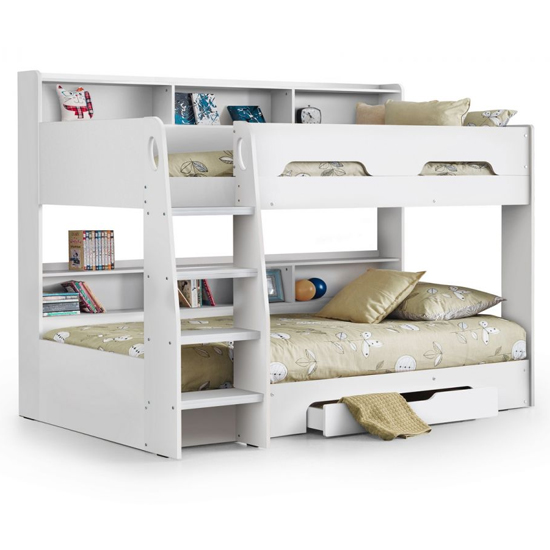 Orion Wooden Bunk Bed In Pure White_2