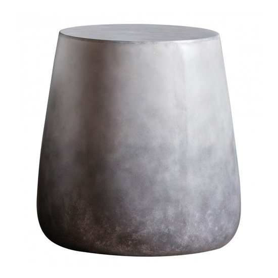 Otley Side Table In Ombre Silver