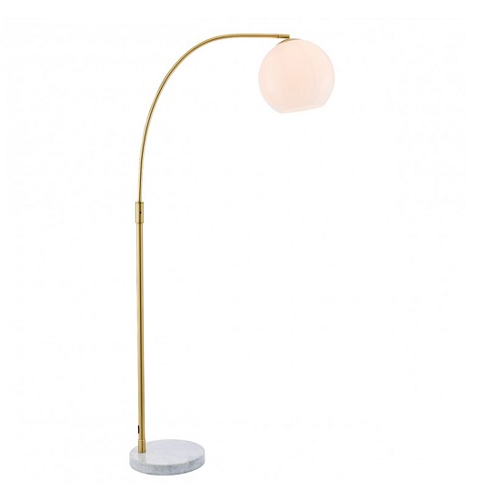 Otto Floor Lamp In Gold Finish