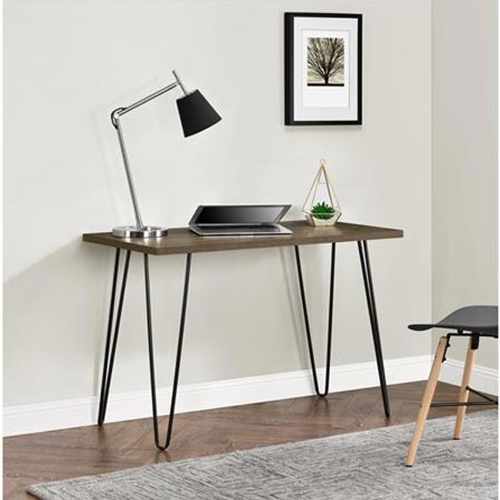 Owen Wooden Retro Laptop Desk In Walnut_2