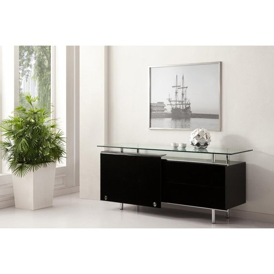 New Styles and Finishes in Black Sideboards