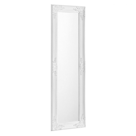 Palais Dressing Mirror In White Frame