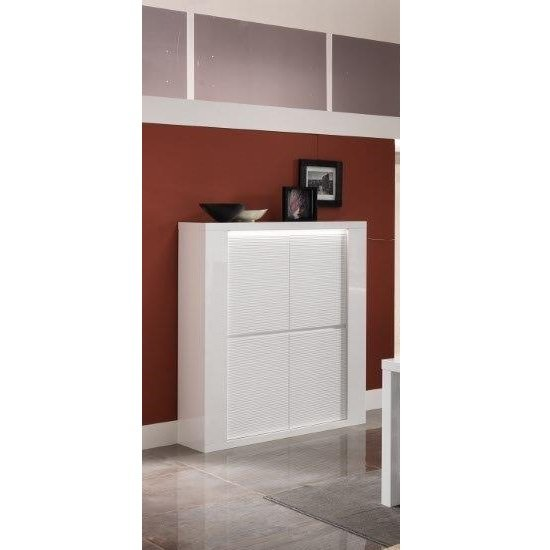 Pamela Bar Unit In White High Gloss With Lighting_3