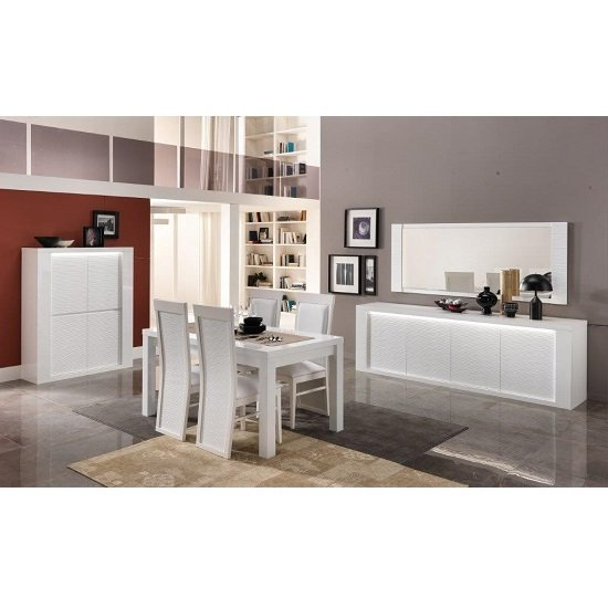 Pamela Bar Unit In White High Gloss With Lighting_4