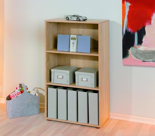 Image of Parini 2 Shelving Unit Bookcase in Sanoma Oak
