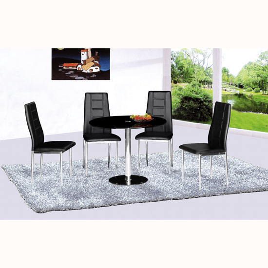 parma dining table 4 nova - 4 Undeniable Benefits of Contemporary Glass Dining Tables