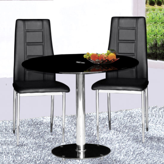 parma dining table plus 2 nova - 4 Undeniable Benefits of Contemporary Glass Dining Tables