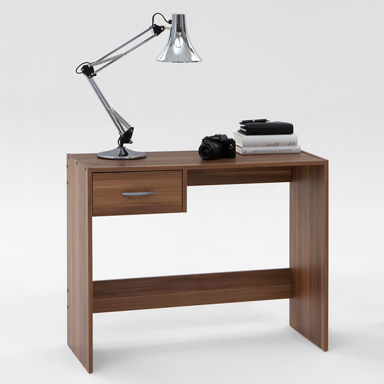 tiny computer desk space economizing and cost cutting pick. Black Bedroom Furniture Sets. Home Design Ideas