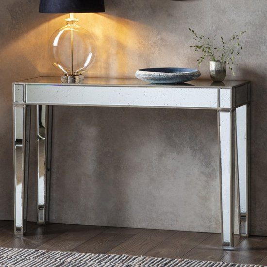 Pattington Mirrored Console Table