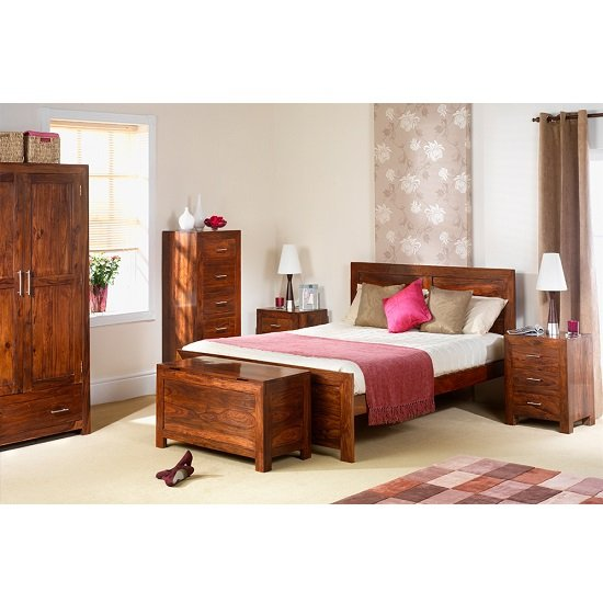 Payton Wooden Bedroom Wall Mirror Tall In Sheesham Hardwood_2