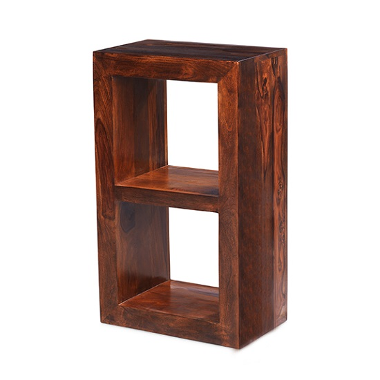 Payton Wooden Display Stand In Sheesham Hardwood