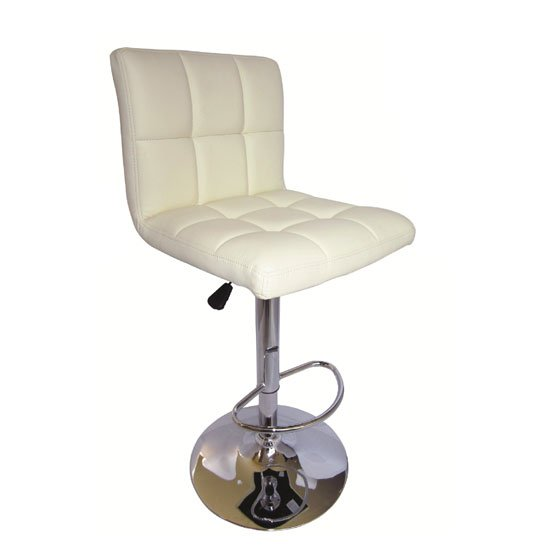Blenheim High back Bar Stool in Cream