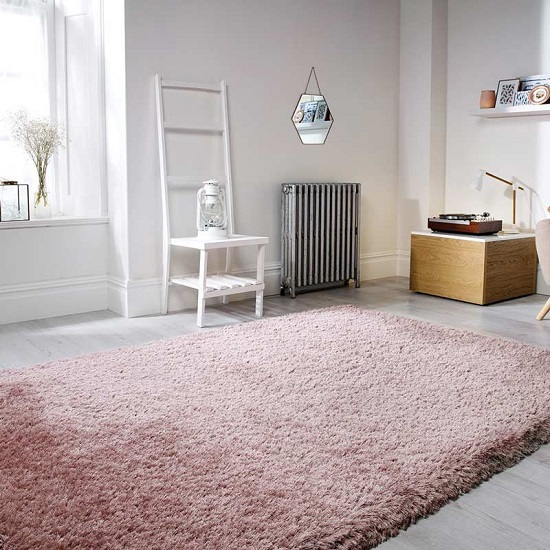 Pearl Dusky Pink Rug 37099 Furniture In Fashion