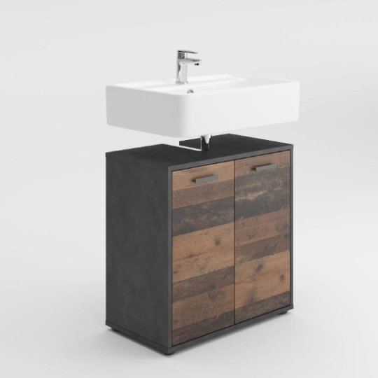 Perseus Under Sink Vanity Unit In Matera And Old Style Dark