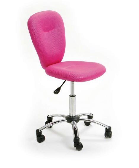 Pezzi Children's Office Swivel Chair in Pink